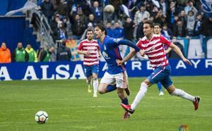 Derrota del Granada ante el Oviedo