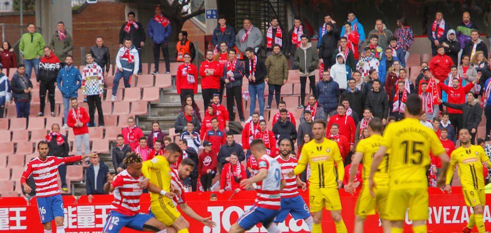 El Granada acaba la jornada fuera del Play-off de ascenso