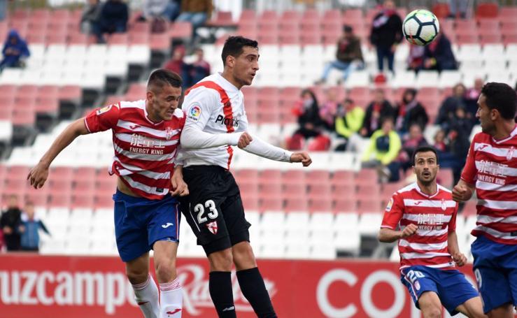 Las imágenes del Sevilla Atlético - Granada