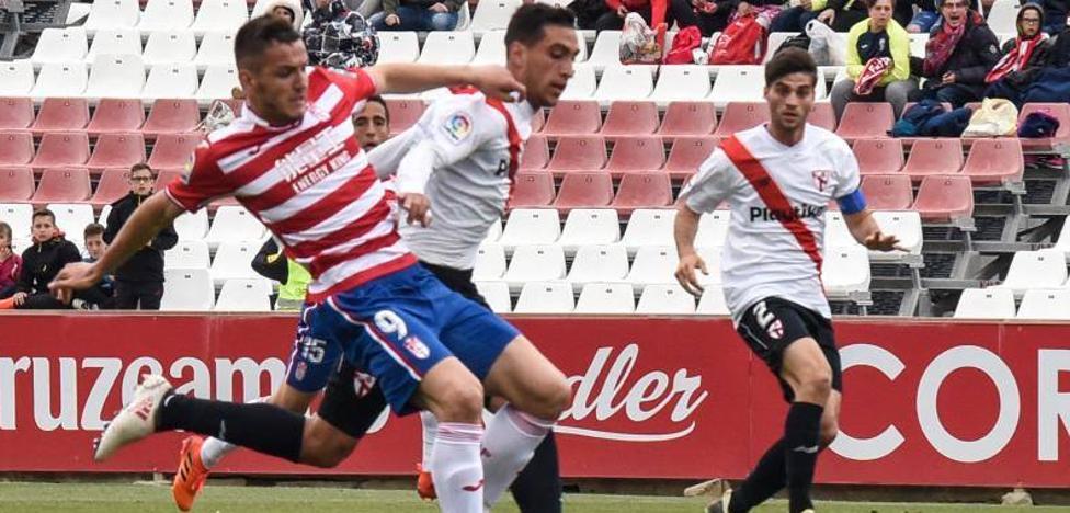 El empate deja al Granada a dos puntos del 'play off'