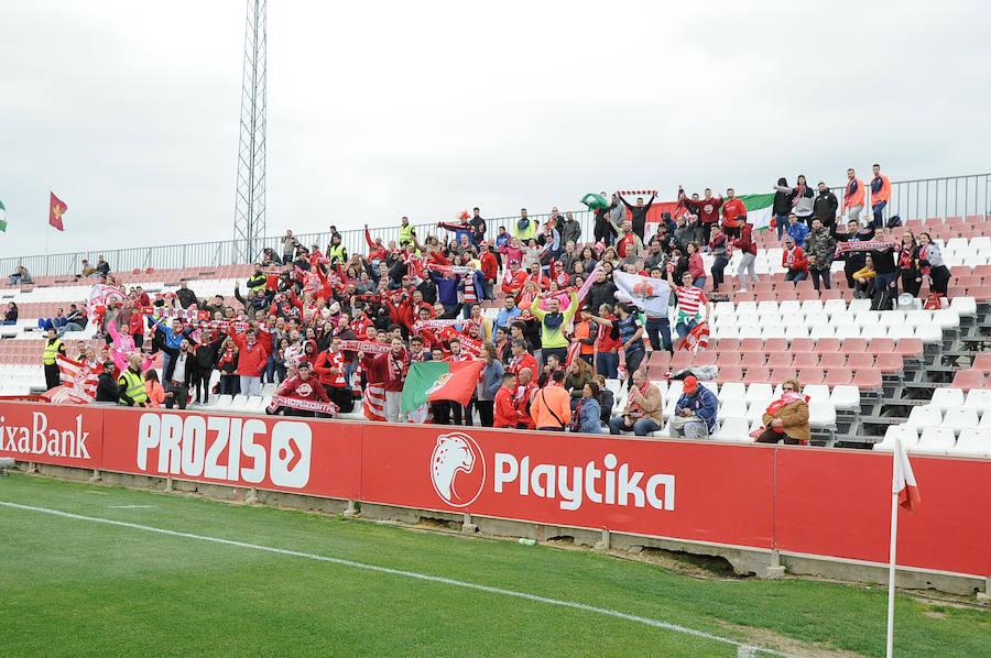 La afición del Granada CF se deja notar en Sevilla