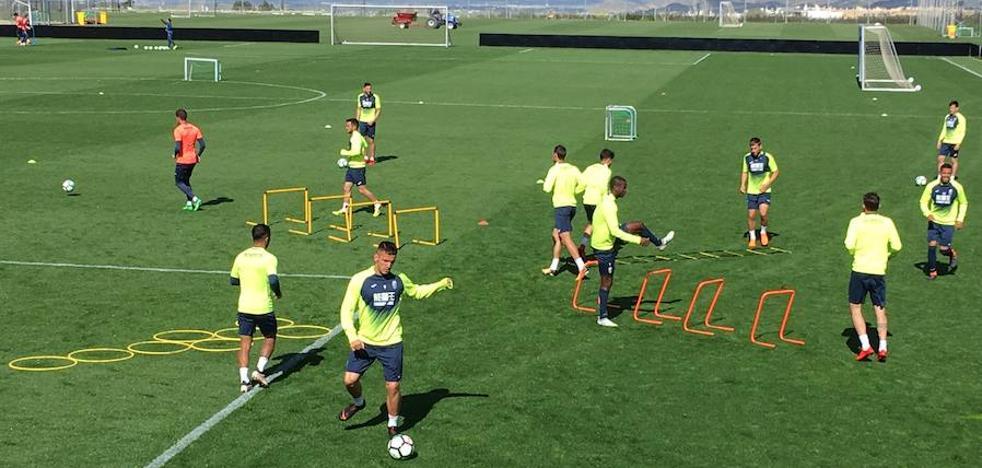 Normalidad aparente en el entrenamiento del Granada