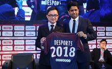 La agencia de Jiang firma con el PSG un acuerdo comercial