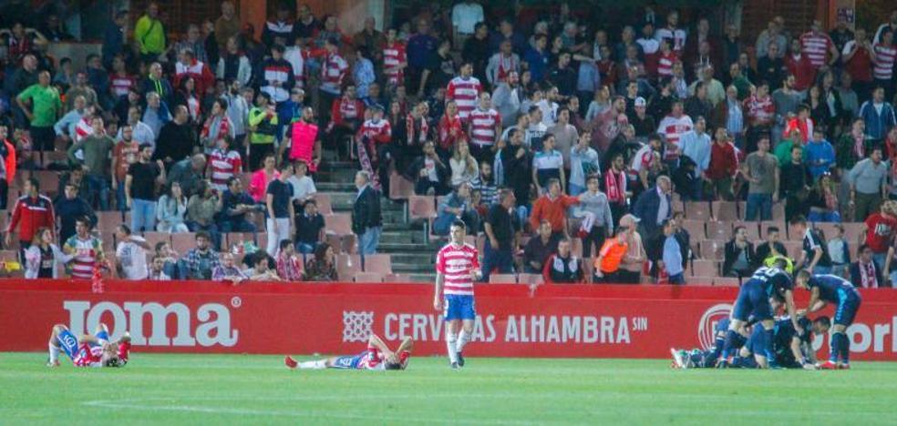Tercera vez esta temporada que el Granada encaja tres goles