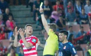Yeray falló el quinto penalti en contra de los granadinos durante esta campaña