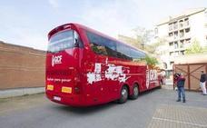 Vuelta en bus desde Gijón