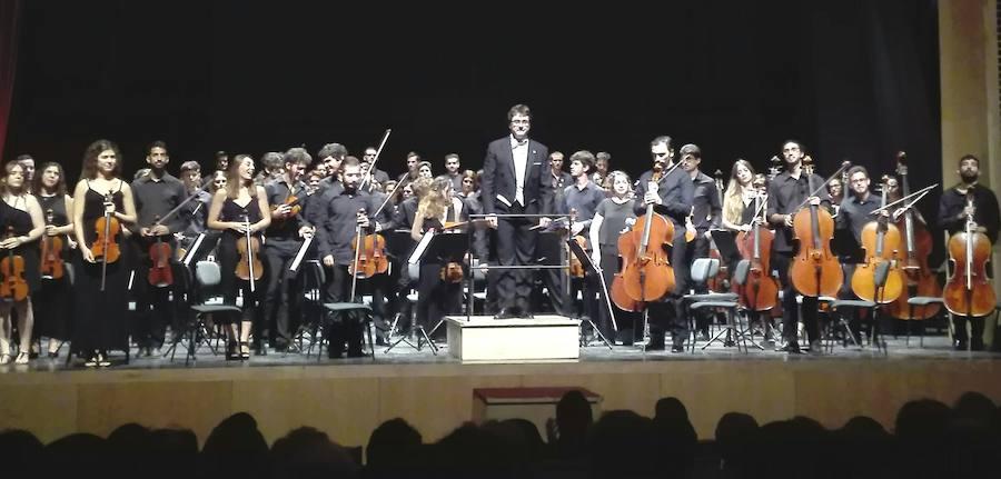 Éxito del Concierto de Clausura del V Encuentro Nacional de la Orquesta Filarmónía