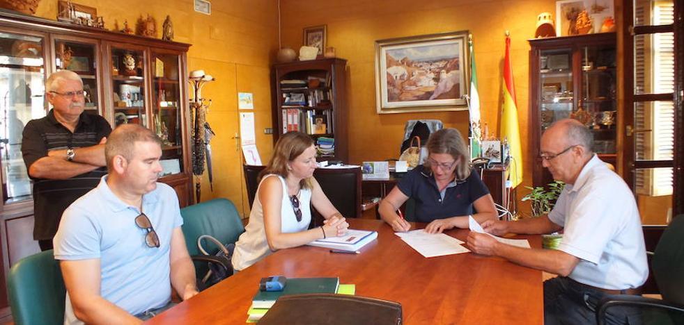 Firmada el acta de replanteo para el inicio de la segunda fase en la calle Nuestra Señora de la Paz de Paulenca