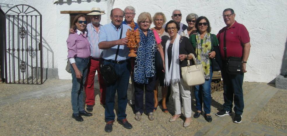 La jarra accitana del Día Mundial del Turismo se va a Lorca