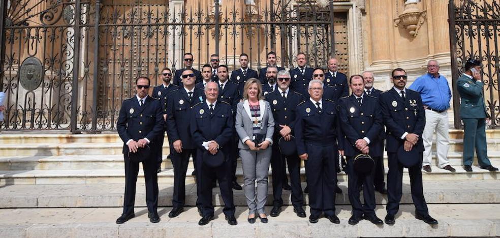 La Policía Local celebra la festividad de sus patrones