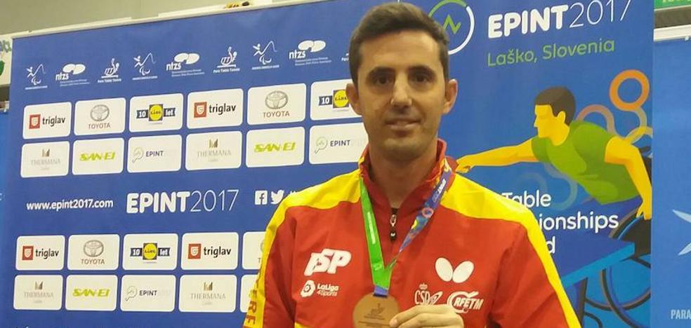 El Ayuntamiento felicita a José Manuel Ruiz por sus medallas en el Europeo de Eslovenia