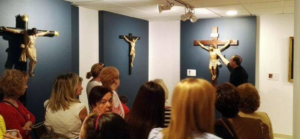 Inaugurada la Exposición 'Fe, Entrega, Sacrificio y Vida' en La Peza