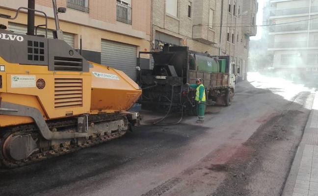 El plan de asfaltado inicia su segunda fase