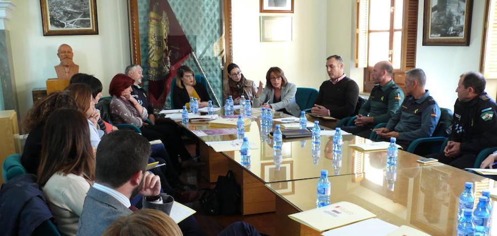 La comisión comarcal contra la violencia se reúne en Guadix