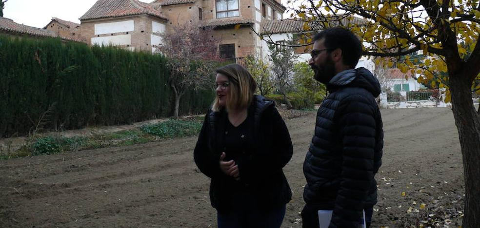 La huerta de la Fundación Visconti se abre a la ciudadanía con una 'Una huerta atrás'