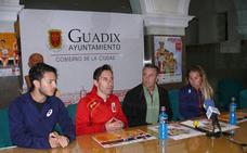 Guadix ejerce de nuevo como capital de la marcha