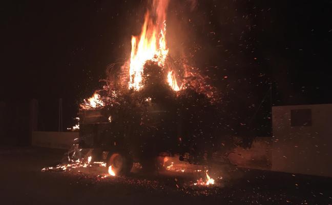 Incendian la 'Carretá' de Cogollos de Guadix