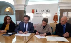 Junta y Ayuntamiento de Guadix acondicionarán la avenida Buenos Aires con un presupuesto de 2,4 millones