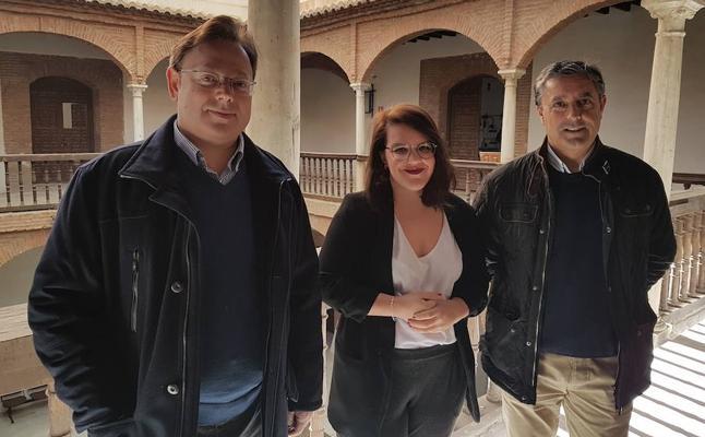 El Ayuntamiento trabaja en la habilitación de cuatro nuevas aulas para el Conservatorio en la planta superior del Palacio de Villalegre