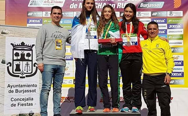 Éxito de la marcha accitana en el Campeonato de España