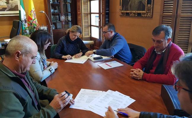 Firmada el acta de replanteo para el inicio de las obras en la calle Sierra Nevada de Bácor-Olivar