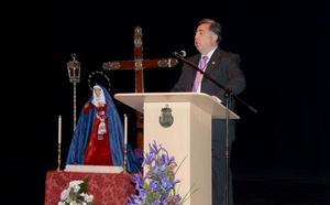 Manuel Hernández pregona la Semana Santa de Guadix