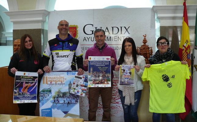 Guadix concentra tres grandes eventos deportivos este fin de semana