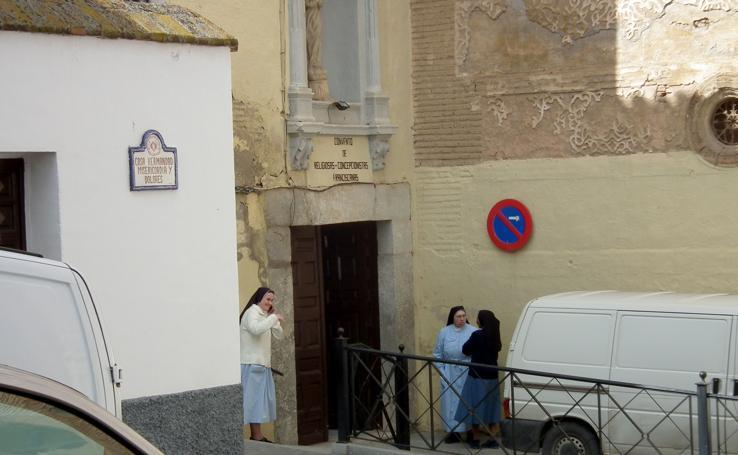 Adiós a cuatro siglos y medio del convento de clausura de la Concepción de Guadix