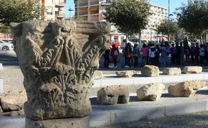 Las visitas al Teatro Romano «Acci» se realizan los sábados a las diez de la mañana