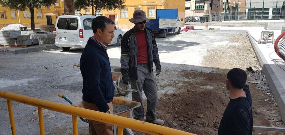 La remodelación integral de la Plaza de la Concordia avanza a buen ritmo