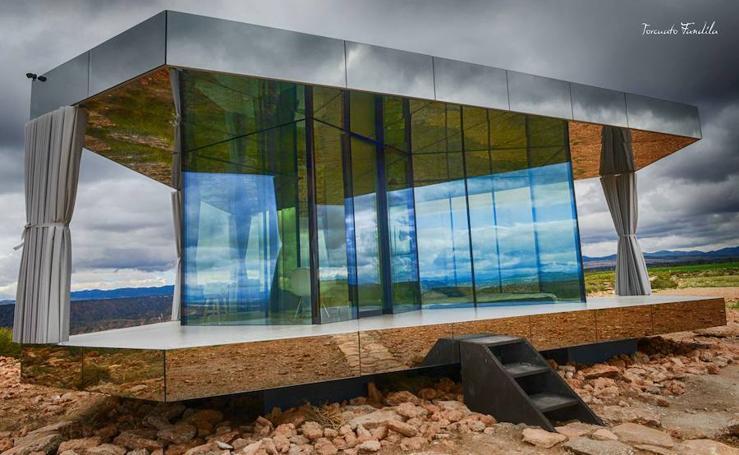 La casa de cristal de Gorafe, preparada para desafiar la dureza del desierto