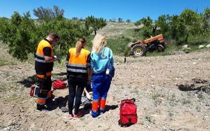 Fallece un hombre de 72 años al caer de un tractor en Gor
