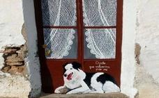 Murales contra el abandono animal en Hernán Valle
