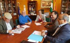 La comunidad de regantes de la acequia del Chirivaile y la empresa Aguas de Guadix firman un convenio