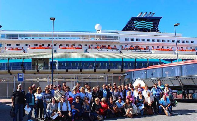 Los vecinos de Huétor Vega, de crucero por el Mediterráneo