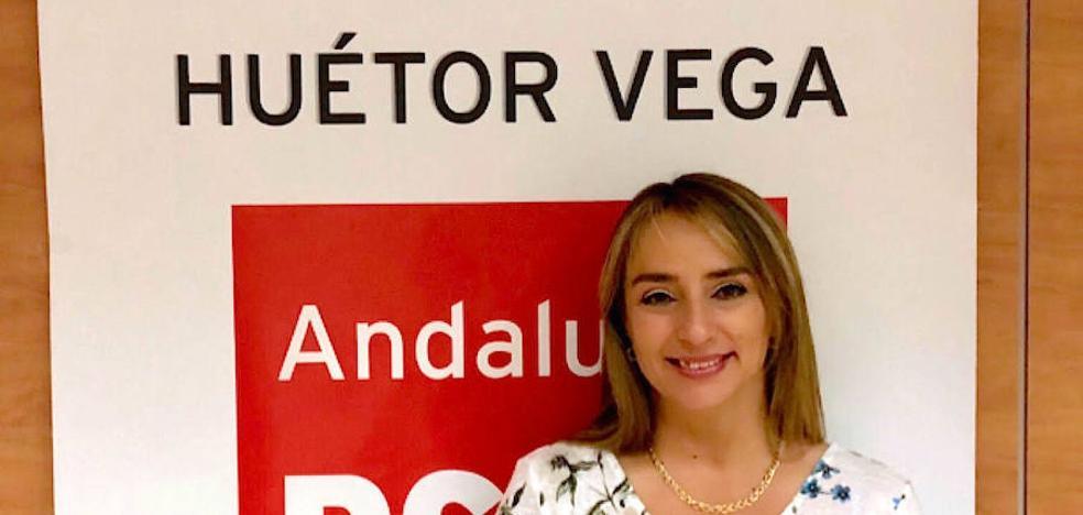 Carolina Higueras, reelegida secretaria general del PSOE en Huétor Vega