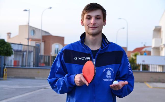 El palista ruso Nikita Kirillov aterriza en Huétor Vega