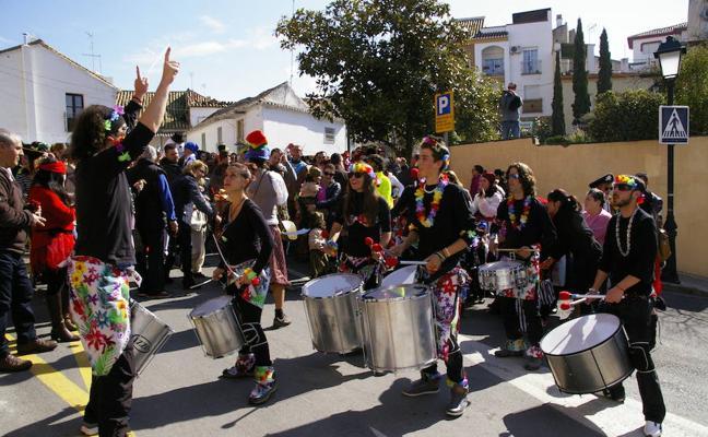 Carnaval: el pasacalles de Huétor