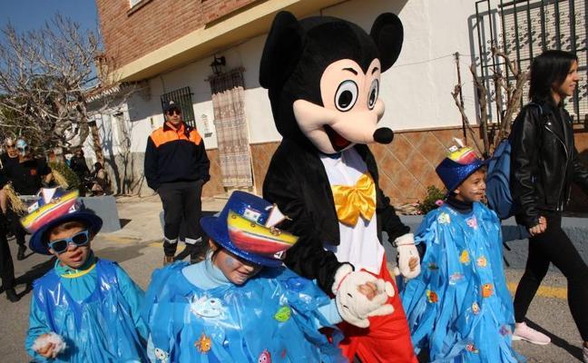 5 momentos del carnaval de huétor vega