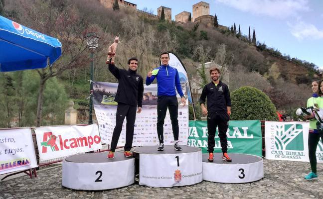 El hueteño Sergio Correa, campeón bajo la Alhambra