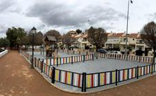 El nuevo parque de Avenida Ingeniero Santa Cruz, a punto
