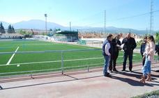 El estadio del Huétor Vega tendrá vestuarios soterrados este año