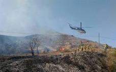 El Infoca da por extinguido el incendio de Sorbas, que ha afectado a cinco hectáreas de matorral