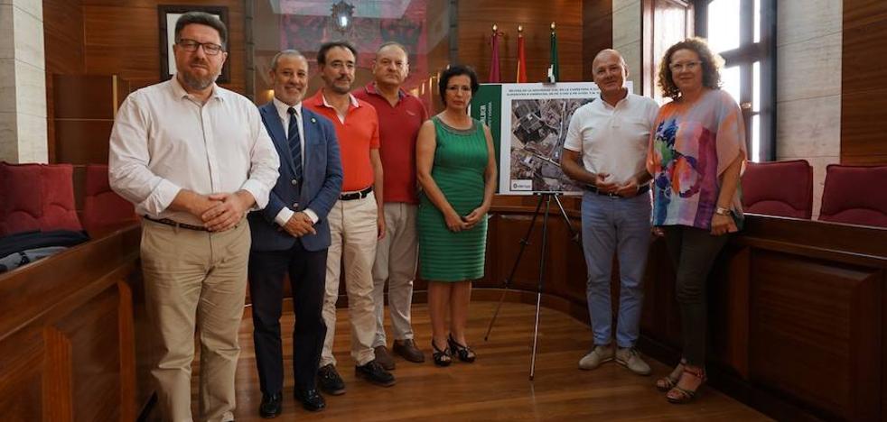 La Junta iniciará a principios de 2018 las obras de seguridad vial en la A-352, a su paso por Vera