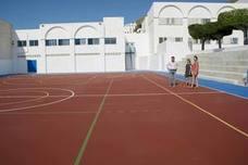 El Colegio San Antonio de Padua inicia año escolar con nueva pista polideportiva