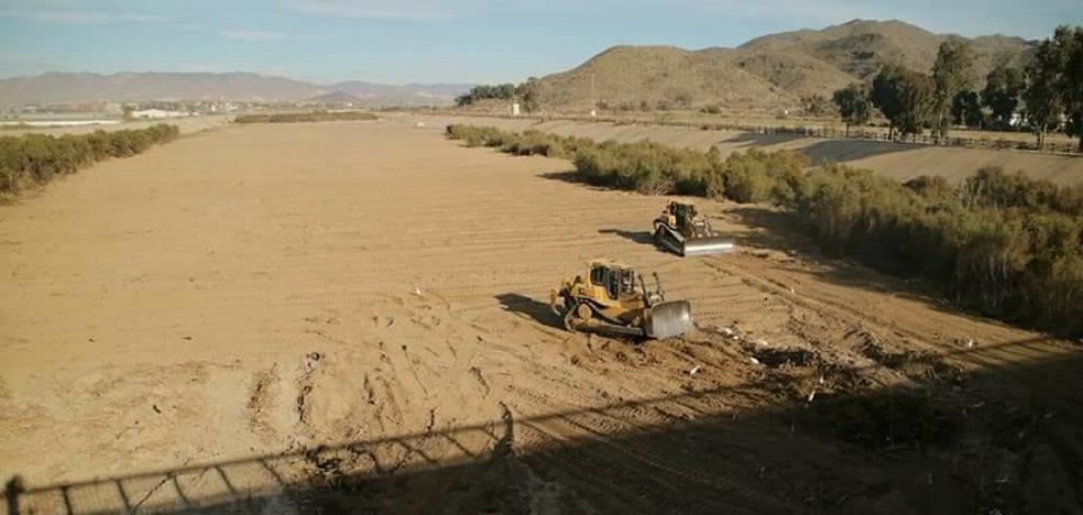 La rehabilitación de la desembocadura del río Almanzora busca evitar futuros desastres