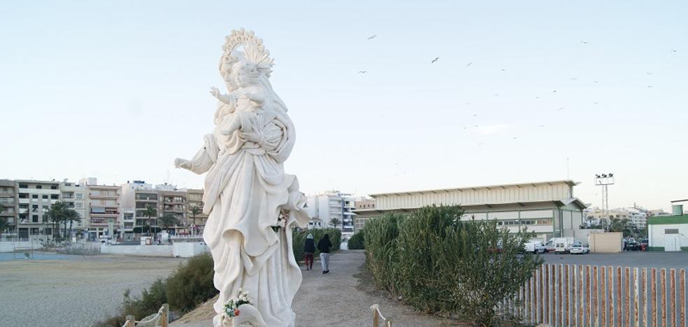 El acceso hacia el monumento de la Virgen del Carmen será un atractivo turístico más