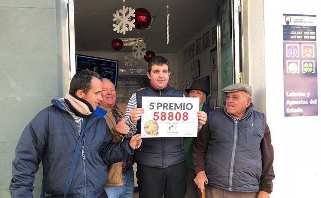 Sorteo Lotería de Navidad: El Pelotazo da un quinto premio en Carboneras