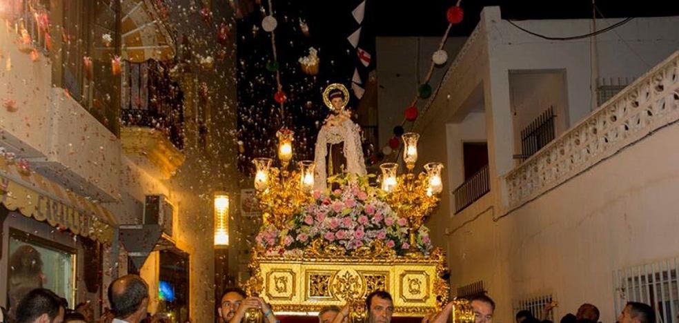 Carboneras presenta el logotipo del centenario del patronazgo de San Antonio
