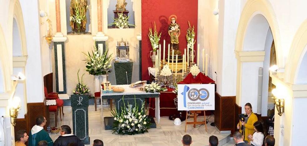 Carboneras comienza a celebrar los cien años de San Antonio de Padua